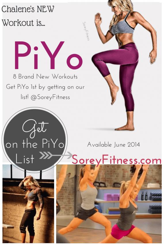 PiYo Workout - New Chalene Johnson Workout