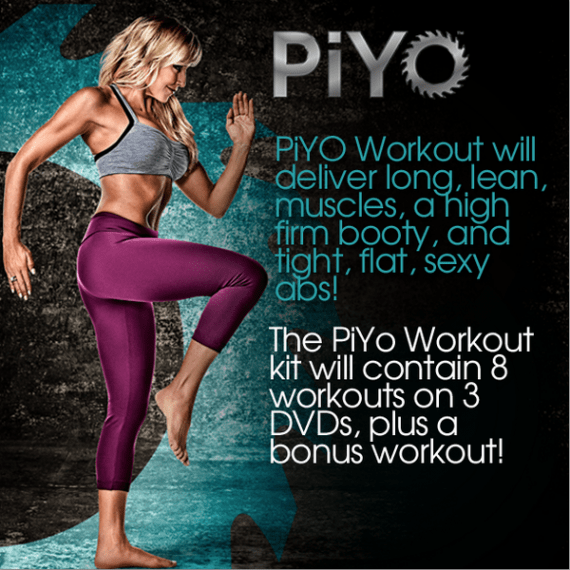 PiYo Workout - New Chalene Johnson Workout
