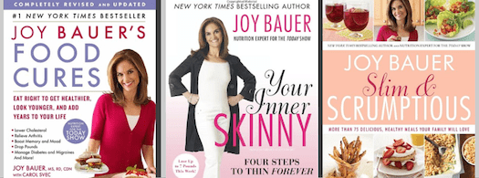 Joy Bauer Nutrition & Health expert for NBC's TODAY Show