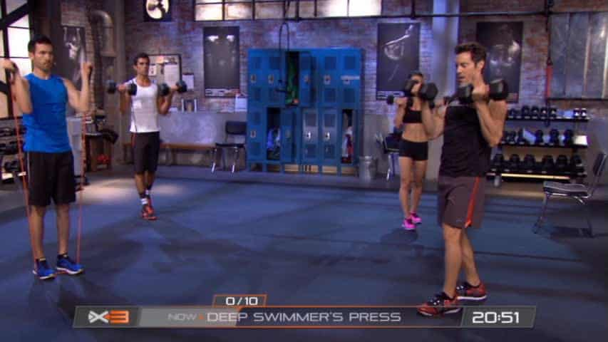 Clip of P90X3 Upper Body Workout
