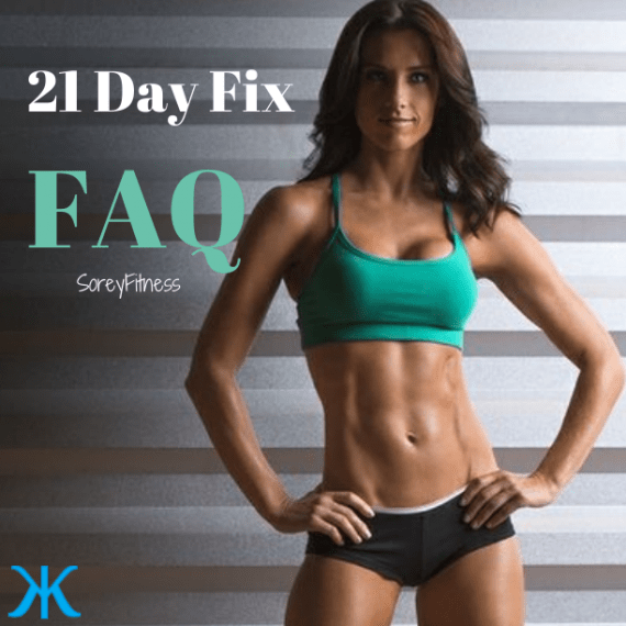 The 21 Day Fix FAQ