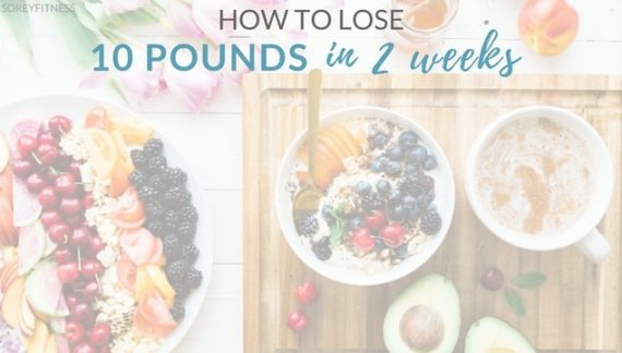 5 Simple tips to help you lose 10 pounds in 2 weeks without crash dieting or detoxing. What diet and workout tricks you need to know to make it possible.
