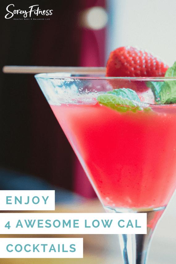 Low Calorie Cocktails