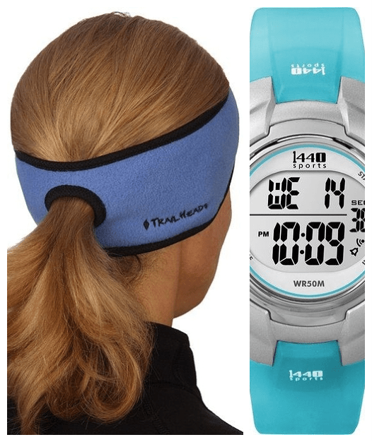 Fit Mother's Day Ideas headband and watch
