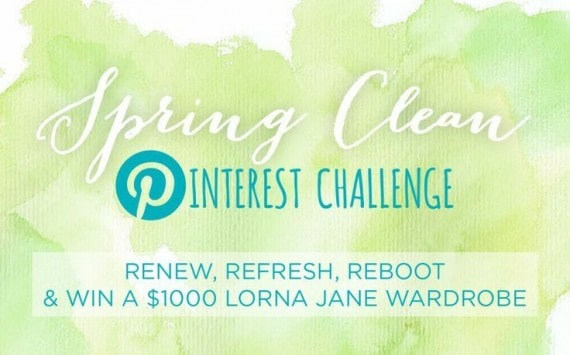 lorna jane spring clean