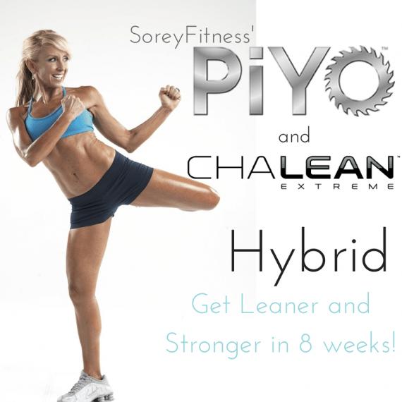PiYo ChaLEAN Extreme Hybrid Workout Schedule