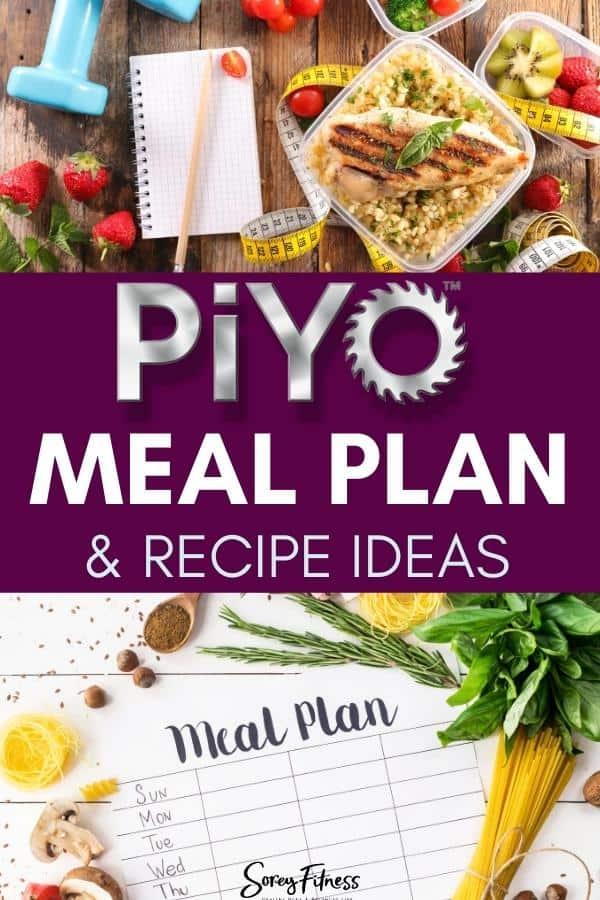 piyo meal plan pinterest hero image