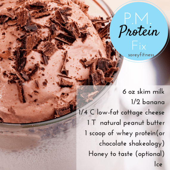 Guilt Free Treat Protein P.M. Fix Smoothie