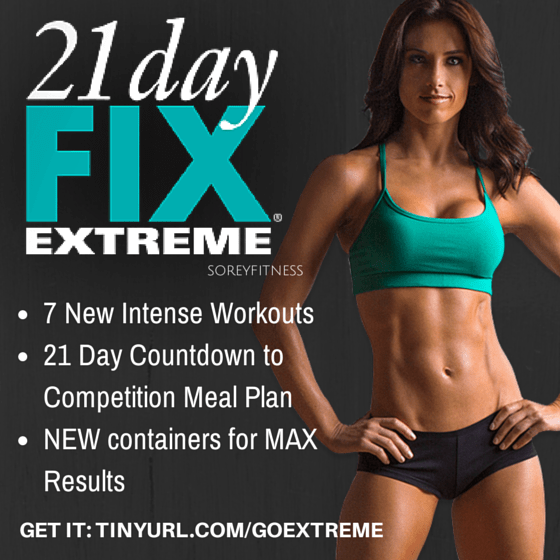 21 Day Fix Extreme NEW Workouts by Autumn Calabrese