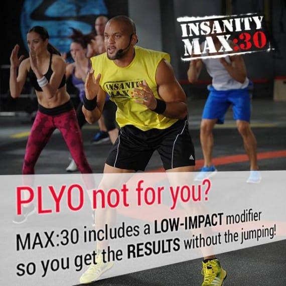 insanity max low impact