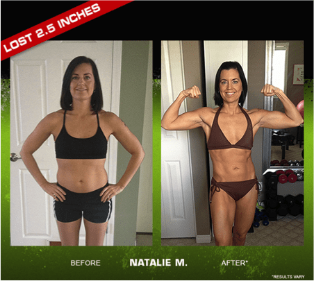 Beast Body Womens Before and Afters