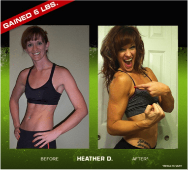 Women's Results with Body Beast
