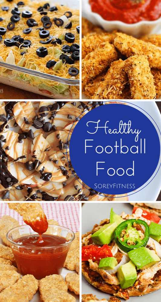 Healthy Football Snacks