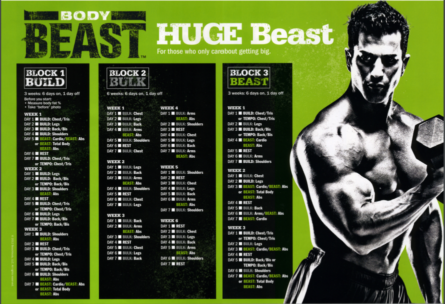 Body Beast Workout - Real Women's Body Beast Review