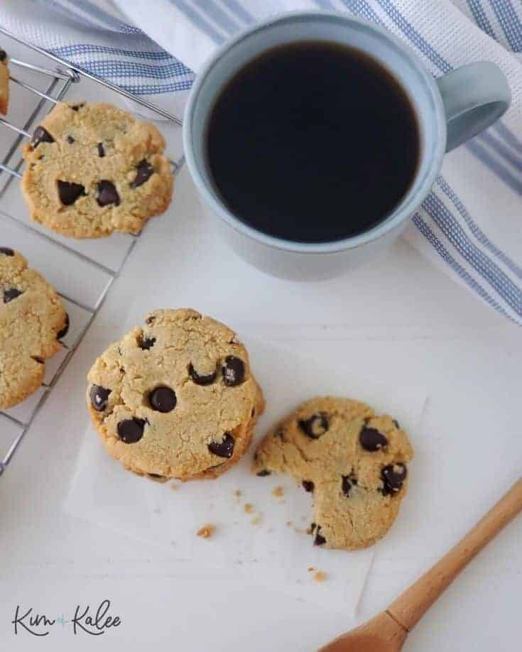 keto chocolate chip cookies are great healthy football snacks
