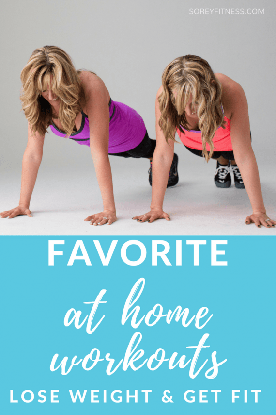 at home workouts to lose weight and get fit