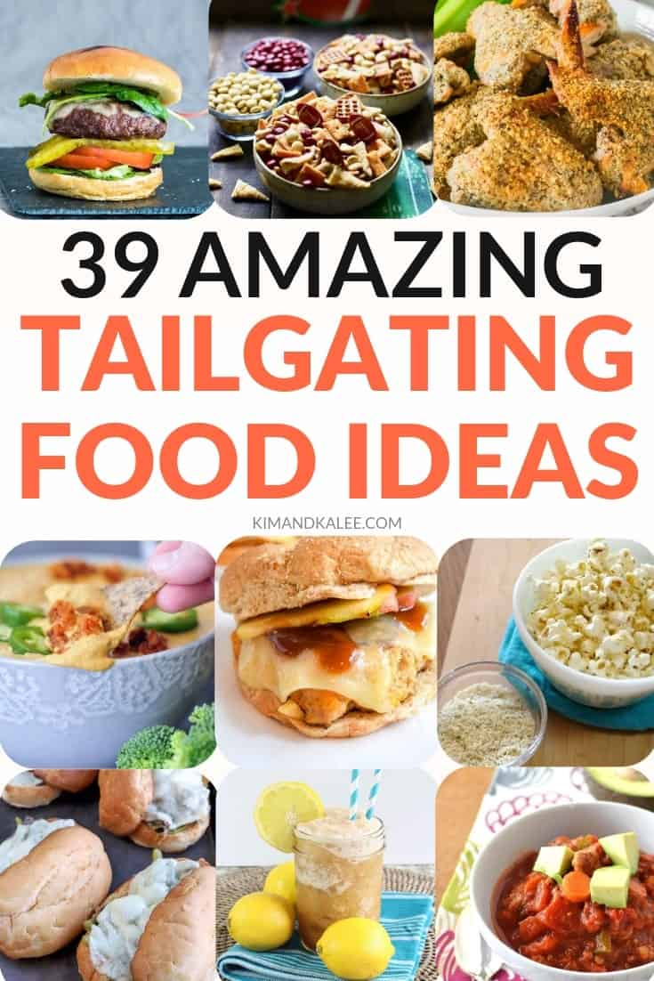 tailgating foods