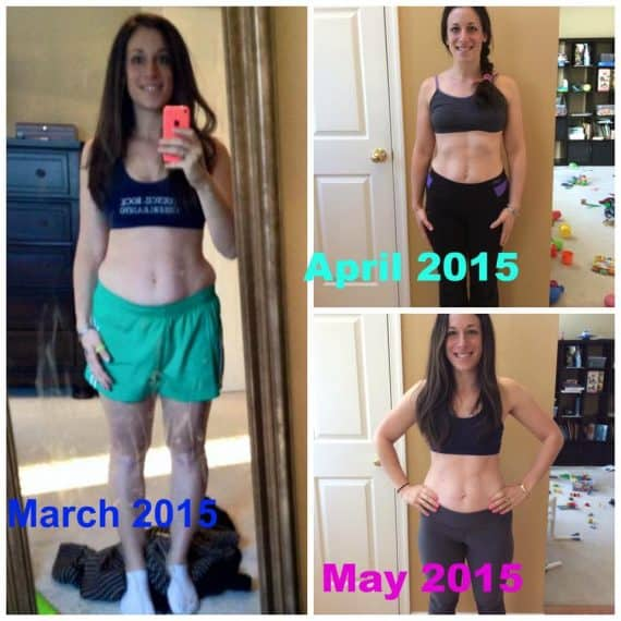21 Day Challenge Results Melissa