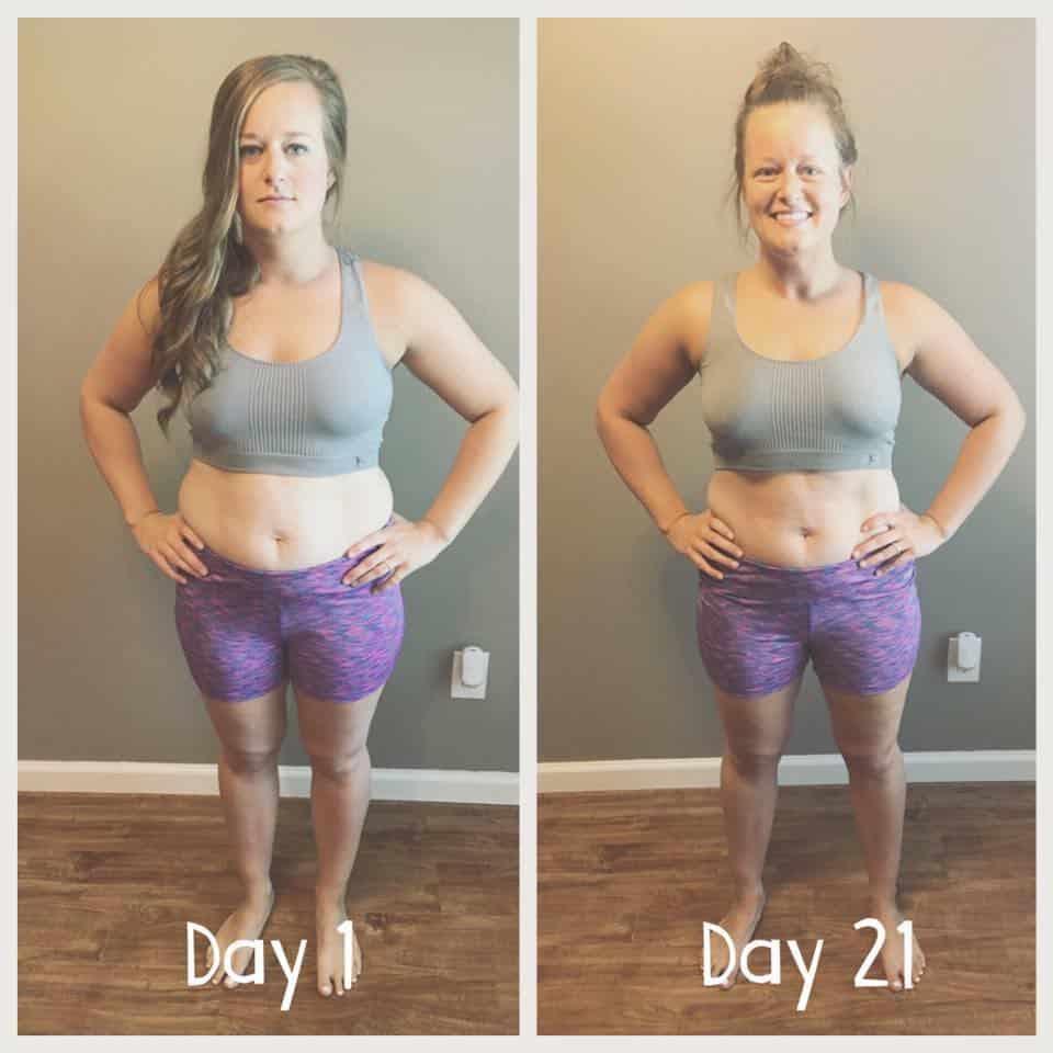 melanie 21 days challenge