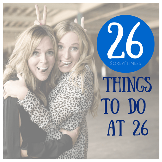 26 things to do at 26