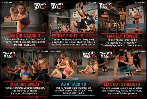 insanity max 30 workouts month-2