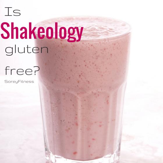 Is Shakeology Gluten Free