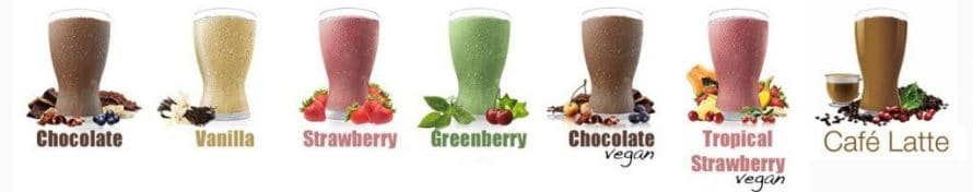 Shakeology Flavors - Whey and Vegan Options