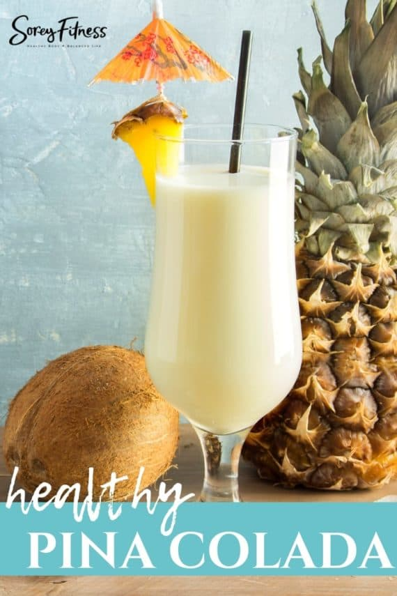 healthy pina colada smoothie recipe