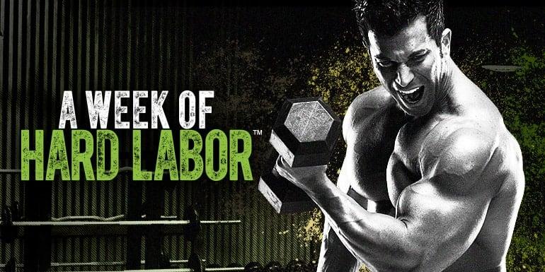 body beast week of hard labor logo