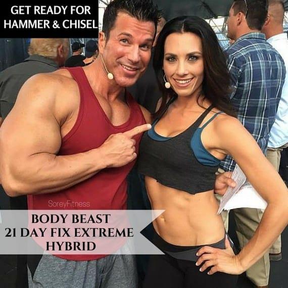 21 Day Fix Extreme Body Beast Hyrbid