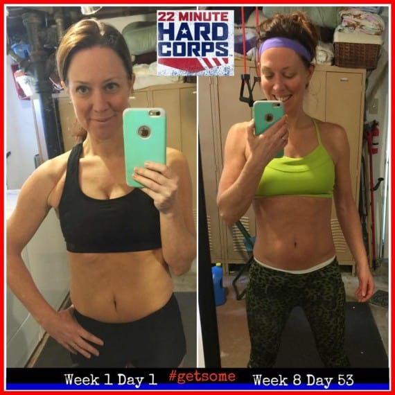 22 Minute HardCorps before and after