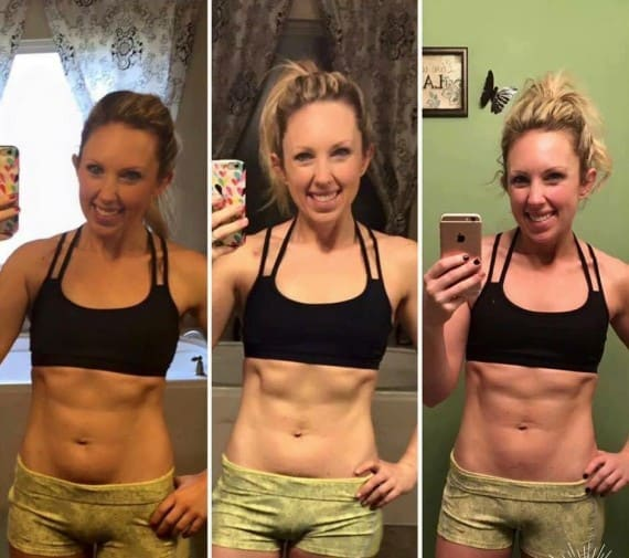 22min hard corps before and after