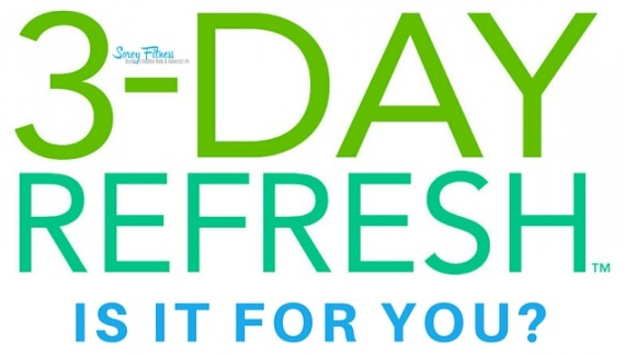 3 Day Refresh – A Whole Foods Detox Including 3 Meals