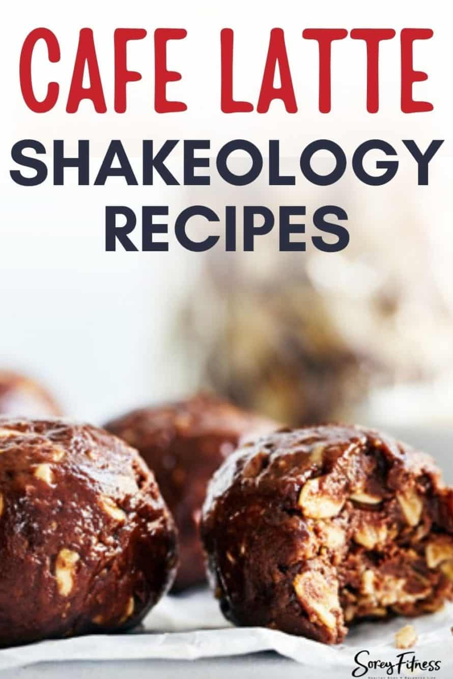 cafe latte shakeology food recipes