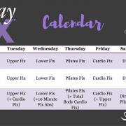 The 21 Day Fix Schedule - The 21 Day Fix Calendar