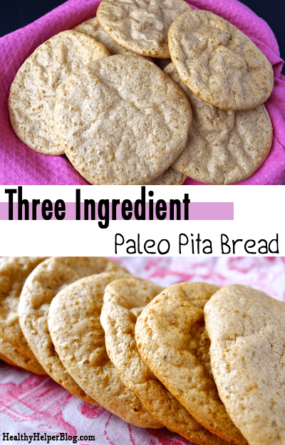 3 Ingredient Paleo Pita Bread – Kaila's Yummy Simple Recipe