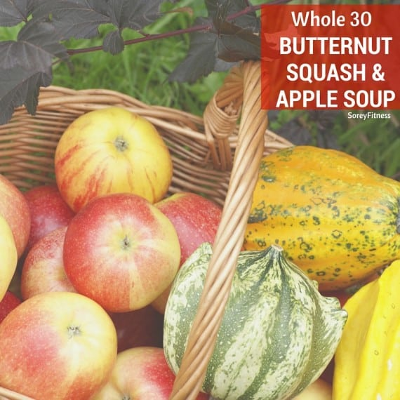 Whole30 Butternut Squash and Apple Soup