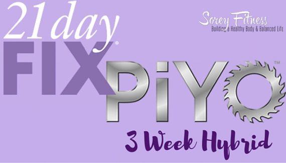 21 Day Fix PiYo Hybrid Workout Calendar