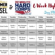 chisel and hammer 22 minute hard corps calendar