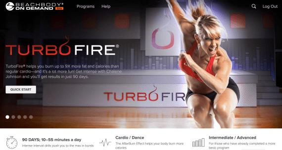 Turbo Fire Beachbody on Demand