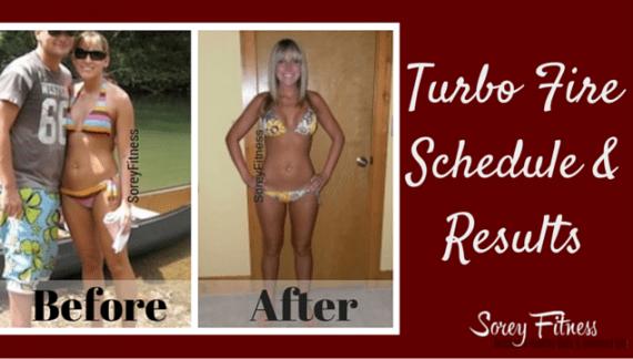 TurboFire Calendar TurboFire Results