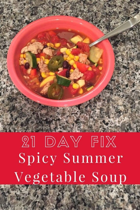 21 Day Fix Vegetable Soup