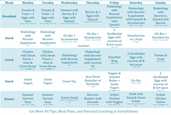 Master's Chisel Calendar – 30 Days of Workouts & Meal Plans