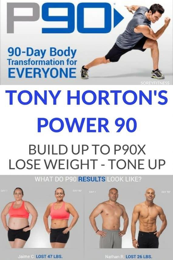 Tony Horton Power 90 P90 Workout Review