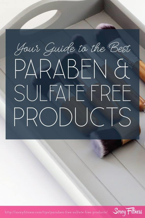 We use paraben and sulfate-free products to help our overall health. We outline the best SLS and paraben-free products for your hygiene, hair and makeup!