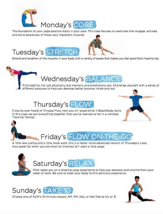 3 week yoga retreat daily classes