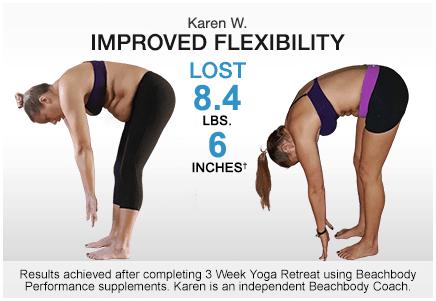3 week yoga retreat results Karen