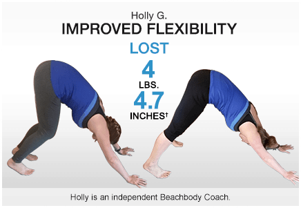 holly g 3 week yoga retreat before and after pics
