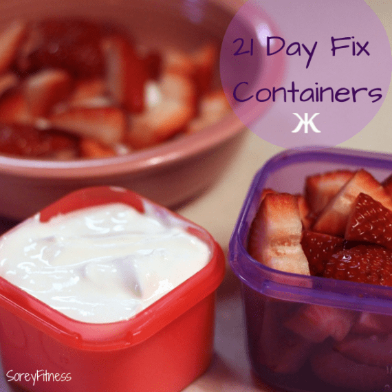 The 21 Day Fix Meal Plan Containers