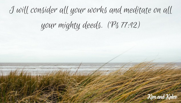 meditating as a christian